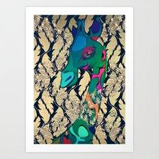 GEE WIZZ Art Print