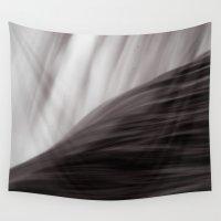waterfall Wall Tapestries featuring Waterfall by Alexandra Str