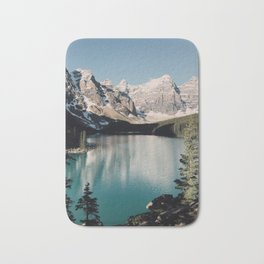 Moraine Lake Morning Bath Mat