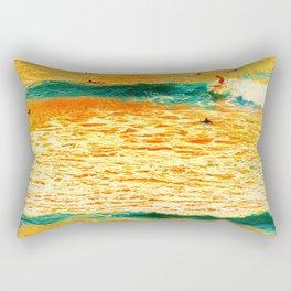 He'e Nalu Ma Le'ahi Rectangular Pillow