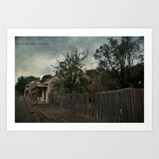 Charming Cottage Art Print