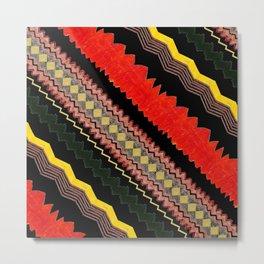 Aboriginal Totem Print - 5 Metal Print