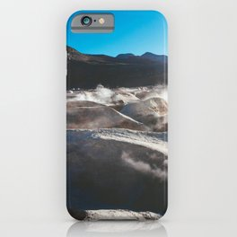 Geysers in the Atacama Desert, Bolivia iPhone Case