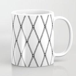 Nautical Fishing Net Coffee Mug
