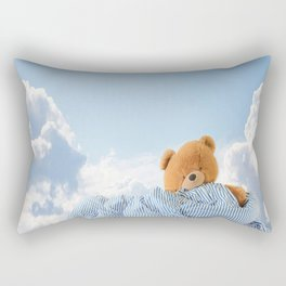 Sweet Dreams - Teddy Bear's Nap Rectangular Pillow