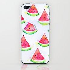 Watermelon Watercolor Print  iPhone & iPod Skin
