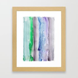 4 | 190907 | Watercolor Abstract Painting Framed Art Print