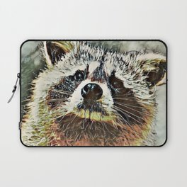 Toony Racoon Laptop Sleeve