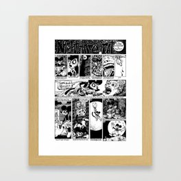 Nightmare The Rat - A Fine Extraction Framed Art Print
