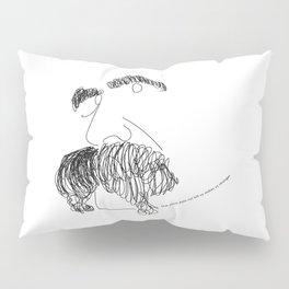 Nietzsche Talking Pillow Sham