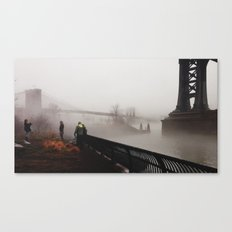 NY Fog Series No.2 Canvas Print
