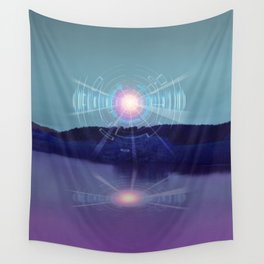 Futuristic Visions 01 Wall Tapestry
