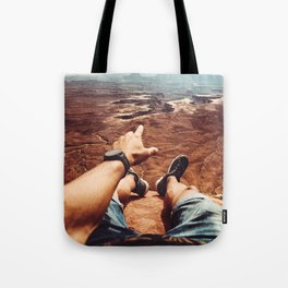 on top of canyonalnds Tote Bag