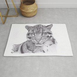 Clouded Leopard - Big Cat Rug