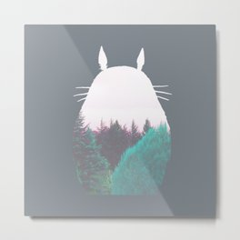 Troll of the Dreamland Forest Metal Print