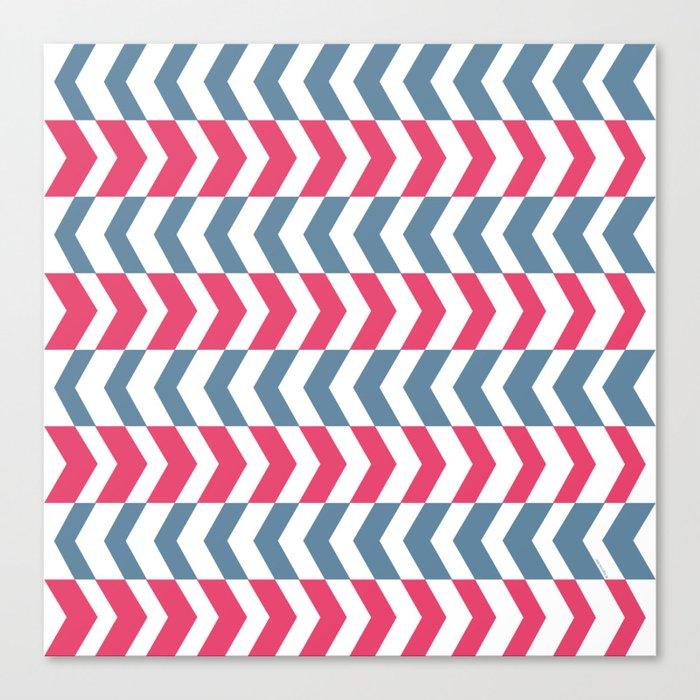 ArrowStripes Canvas Print