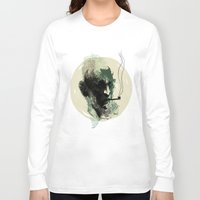 sailor Long Sleeve T-shirts featuring Sailor by Rzuud