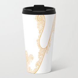 Alphabet Soup: Y Travel Mug