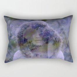 the tire of a wanderer Rectangular Pillow
