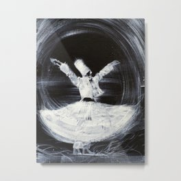 SUFI WHIRLING  - FEBRUARY 21,2013 Metal Print