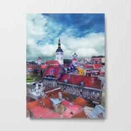 Tallinn art 3 #tallinn #city Metal Print