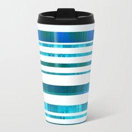 Chillout Stripy (blue-green) Travel Mug