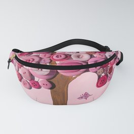 Button Tree Spring Fanny Pack