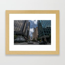 busy DT  Framed Art Print