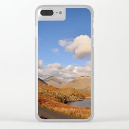 wastwater lake cumbria england Clear iPhone Case