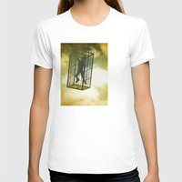 cage T-shirts featuring Cage by Azure Cricket