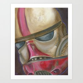 #ShayStrong Trooper Art Print