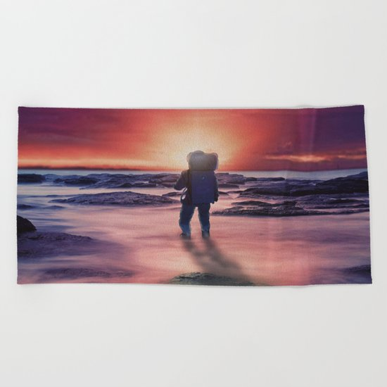 The Sunset Beach Towel