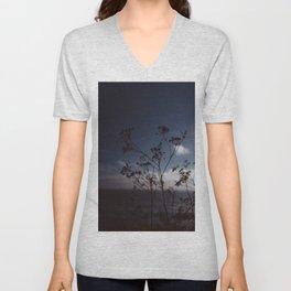 Big Sur Wild Flowers III Unisex V-Neck
