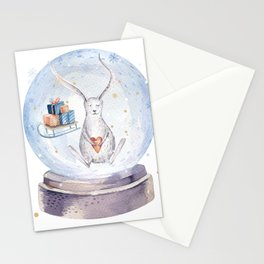 Christmas bunny #3 Stationery Cards