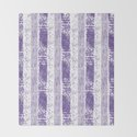 Lilac watercolor paint brushstrokes confetti stripes by pink_water