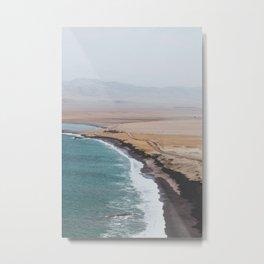 Paracas, Peru I Metal Print