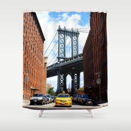 That Brooklyn View - The Empire Peek Shower Curtain