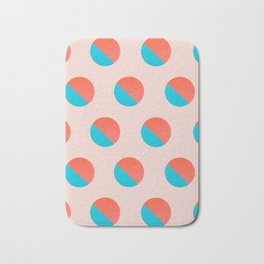 Abstraction_DOT_LOVE_002 Bath Mat