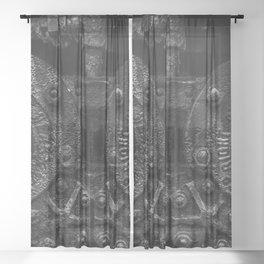 Who Stokes the Stoker Sheer Curtain