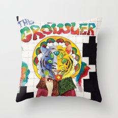 The Growler Throw Pillow