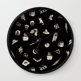 Mischief Managed Wall Clock