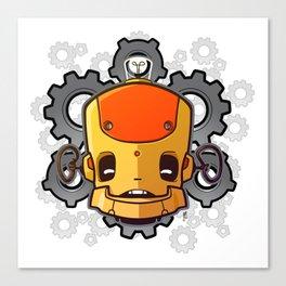 Brass Munki - Bot015 Canvas Print