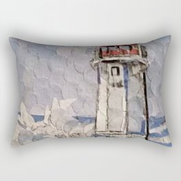 """ Lighthouse "" Rectangular Pillow"