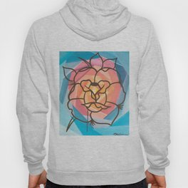 New Rose Abstract Hoody