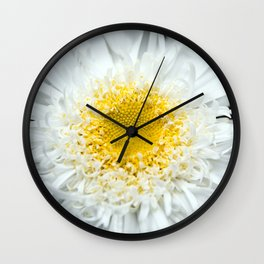 Daisy Heart Wall Clock