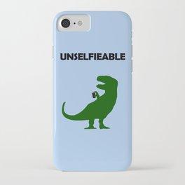 Unselfieable T-Rex iPhone Case