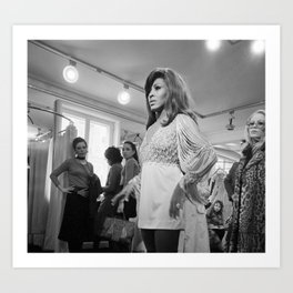 Tina Anna Mae Bullock Turner - Society6 Online Pop Icon - Shop Music Photography Ⓢ.в.乇.⑦⑧ Ⓜⓘⓛⓛⓨ QEW Art Print