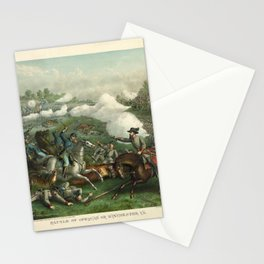 Civil War Battle of Opequan or Winchester Sept. 19th 1864 Stationery Cards
