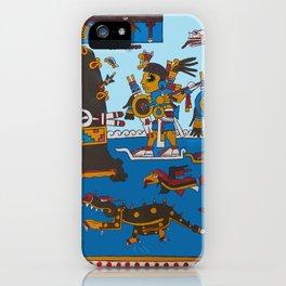 Mixtec 1 iPhone Case