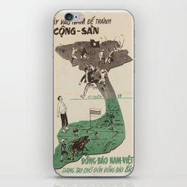 Vintage poster - Vietnam iPhone Skin